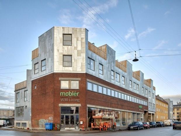 Factory House - facade