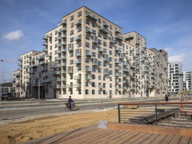 Kanalhusene - Byggeriet
