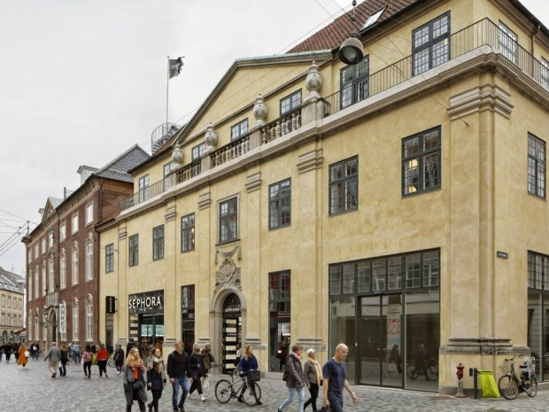 Købmagergades Postkontor - facade
