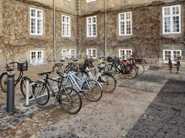Kollegieboliger Sølvgade - Cykelparkeringen