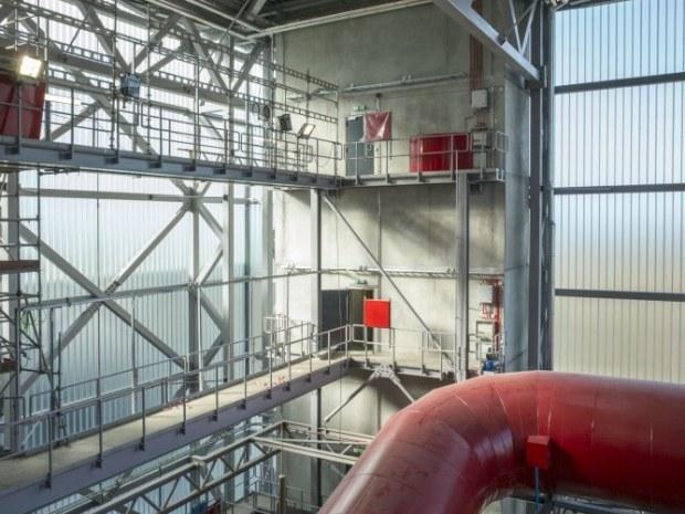 Kraftvarmeværk Lisbjerg - Kedelbygningen