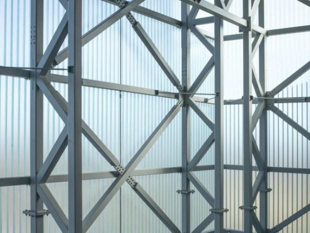 Kraftvarmeværk Lisbjerg - Glasfacaden