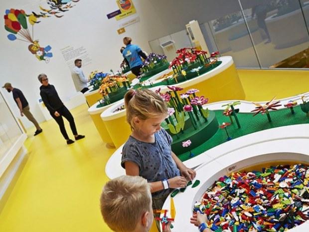 Lego House - gul zone