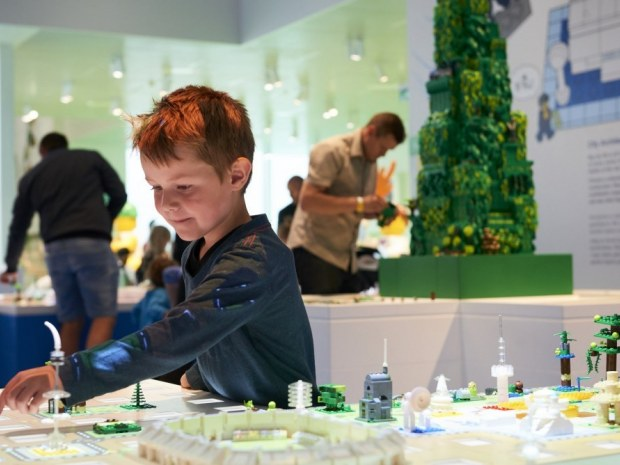 Lego House - blå zone