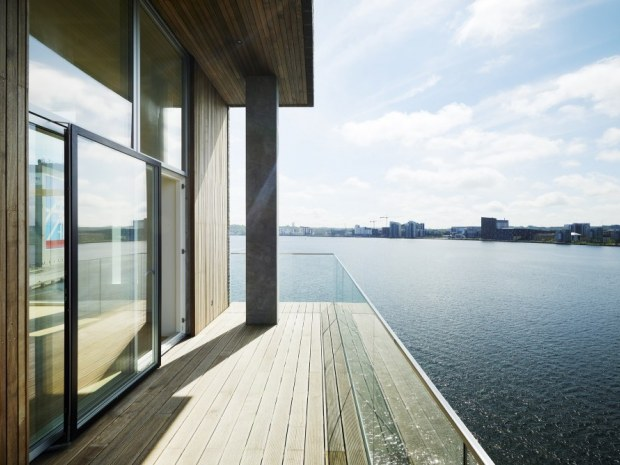 Nordre Havnepromenade - terrasse