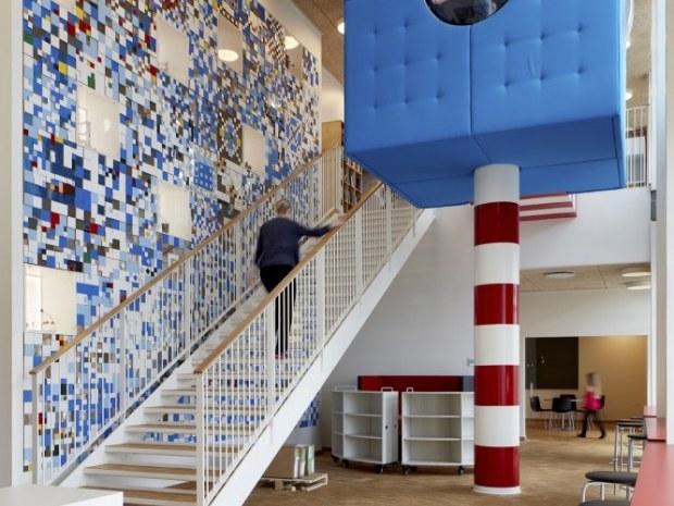 Ny Frederiksberg Skole - Læringsmiljøerne