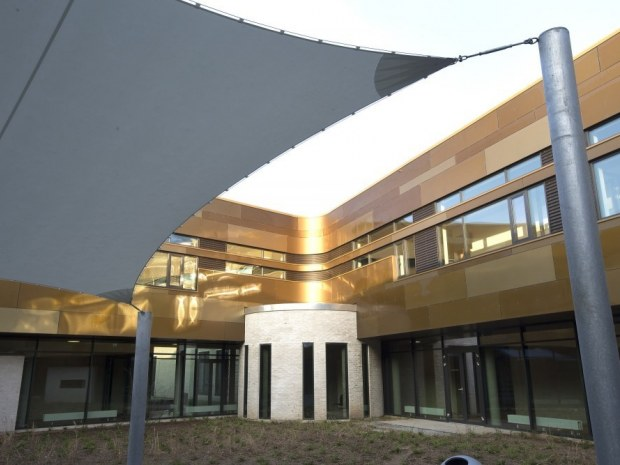 Ny Psykiatrisk Afdeling, Vejle Sygehus - Udendørsarealet
