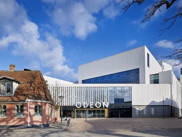 Odeon Musik- og Teaterhus - Beliggenheden