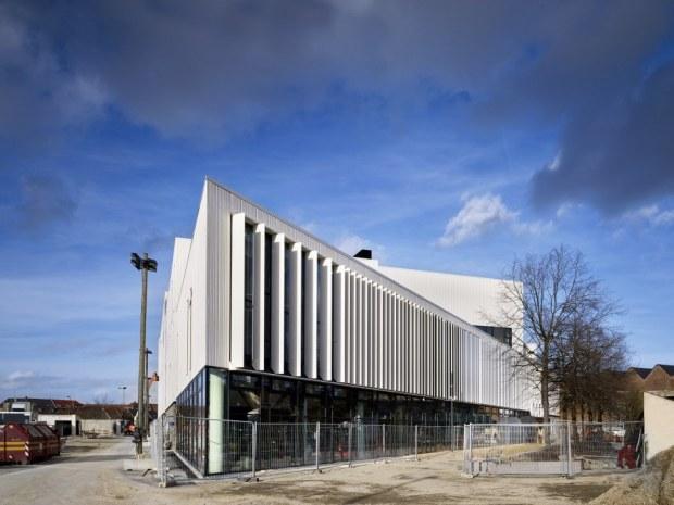 Odeon Musik- og Teaterhus - Arkitekturen