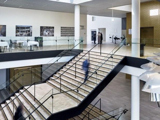 Odeon Musik- og Teaterhus - Bygningsdelene