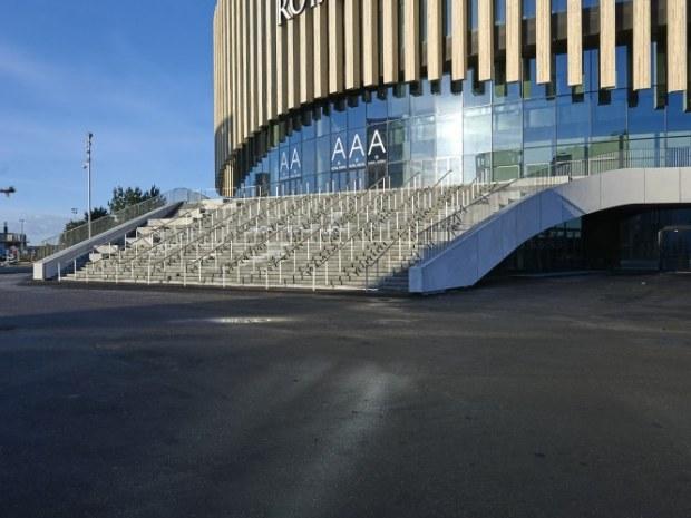 Royal Arena - Hovedtrappen
