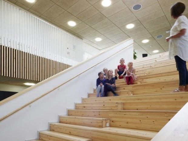 Sønderlandsskolen - trappe