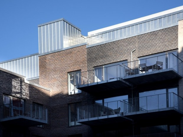 Teglporten, Teglholmen Øst - Projektet