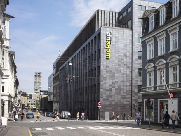 Wakeup Aarhus - facade