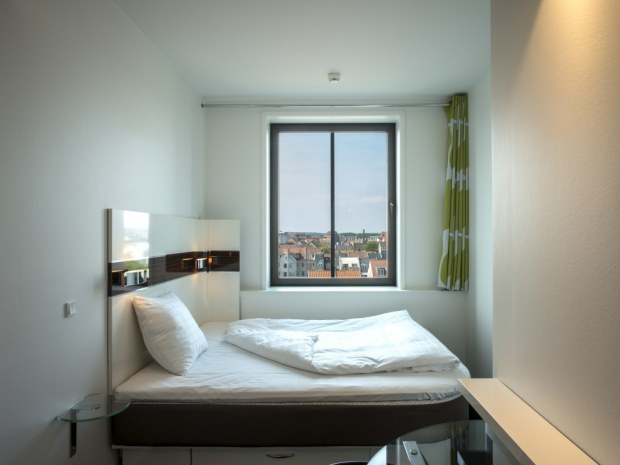 Wakeup Aarhus - værelse