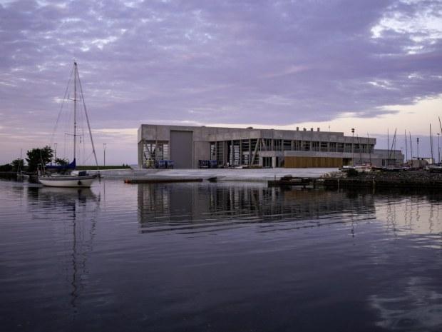 Aarhus Internationale Sejlsportscenter - facade