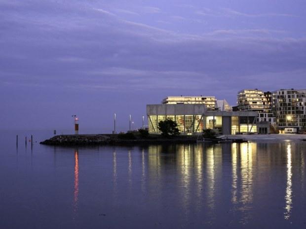Aarhus Internationale Sejlsportscenter - lys