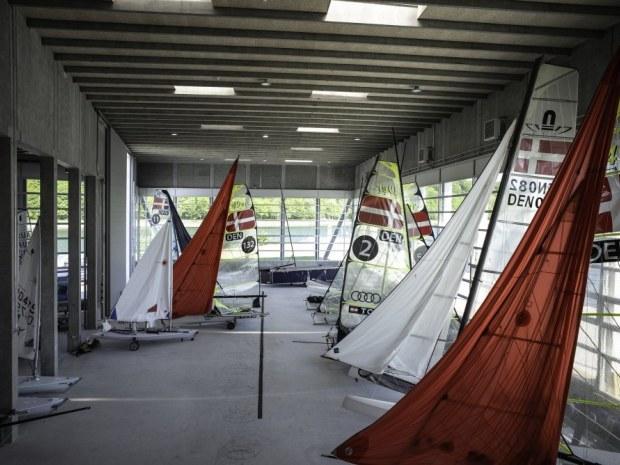 Aarhus Internationale Sejlsportscenter - indvendig