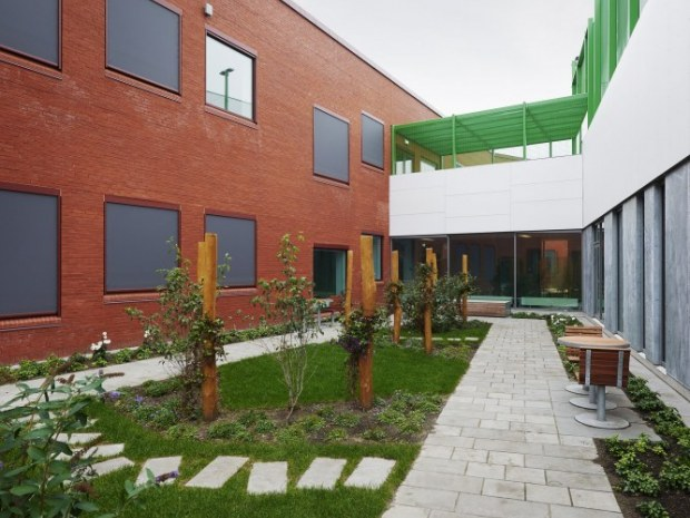 Aarhus Universitetshospital Psykiatrien - gårdmiljø