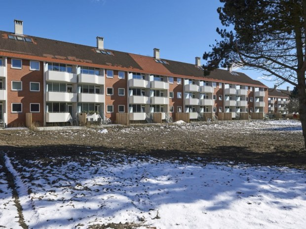Brøndbyparken - facade