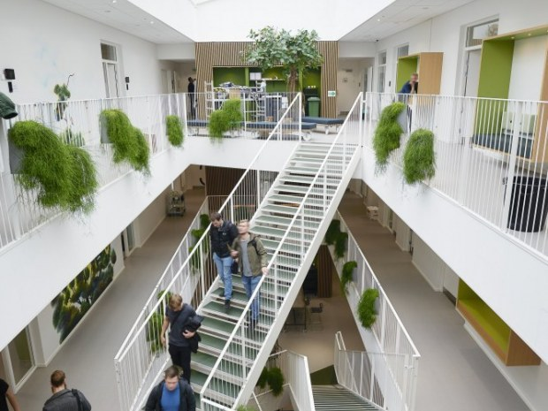 Erhvervsakademi Aarhus, Viby - atrium