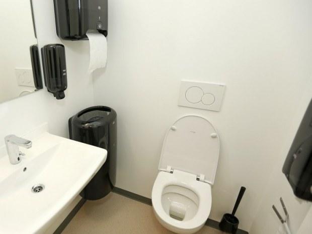 Erhvervsakademi Sjælland - toilet