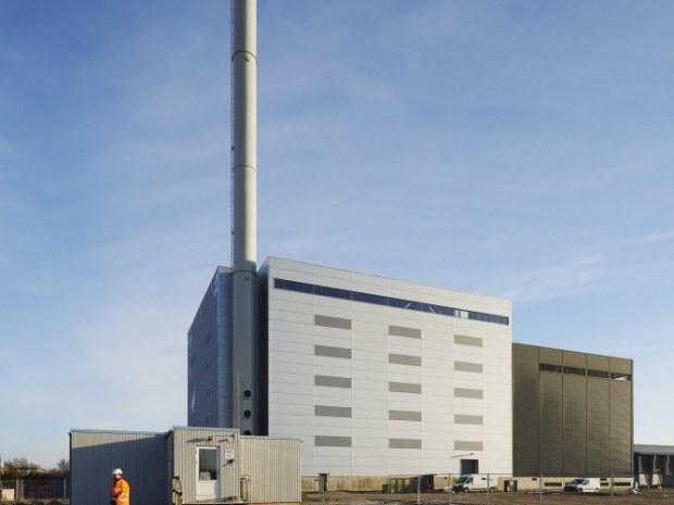 Fjernvarme Horsens Bio Plant - skorsten