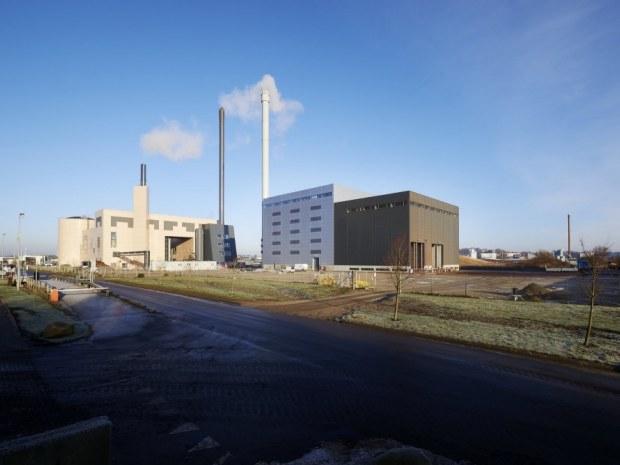 Fjernvarme Horsens Bio Plant - indgang