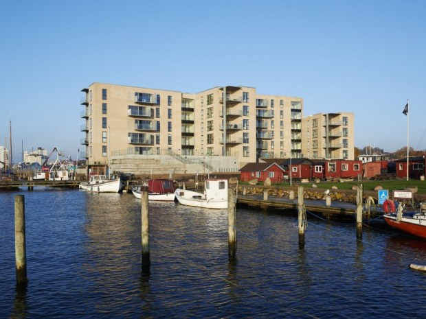 Havnefronten Horsens - facade