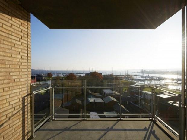 Havnefronten Horsens - tagterasse