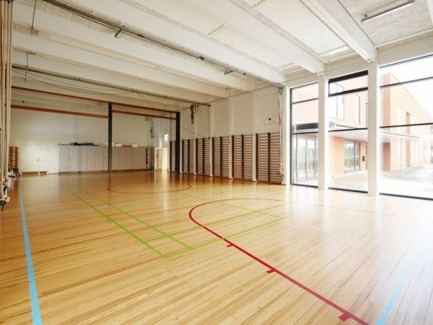Hedensted Skole - gymnastiksal