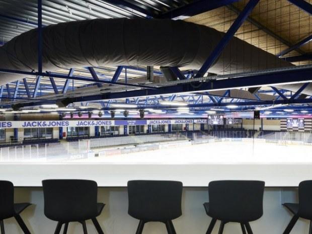 Herning Isstadion - ventilation