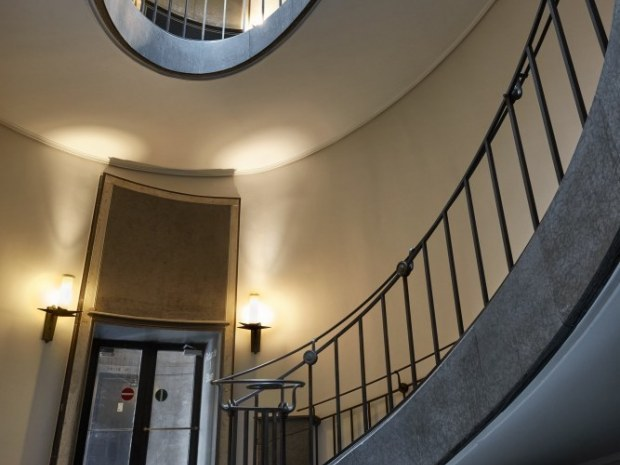 Københavns Politigård - trappe
