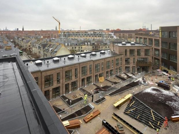 Købke Hus - byggeplads