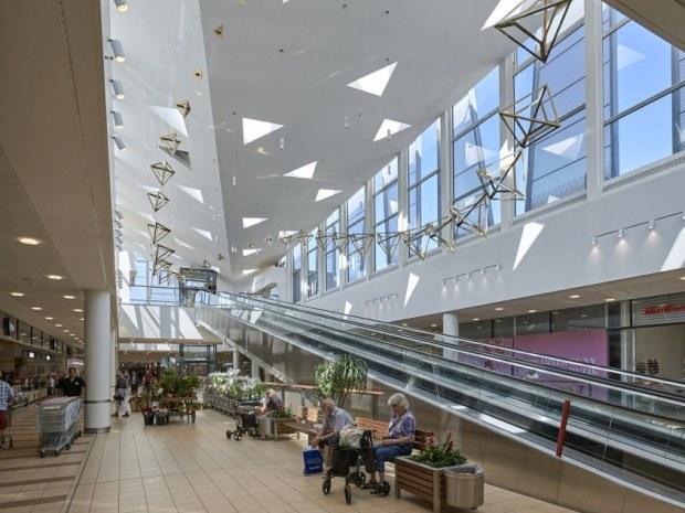 Krystallen Rødovre Centrum Shopping Med Loftshøjde Byggeri