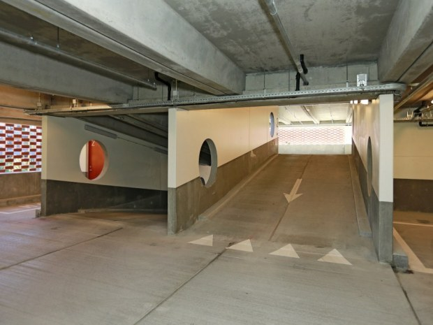 P-hus Sortebrødre Plads - rampe