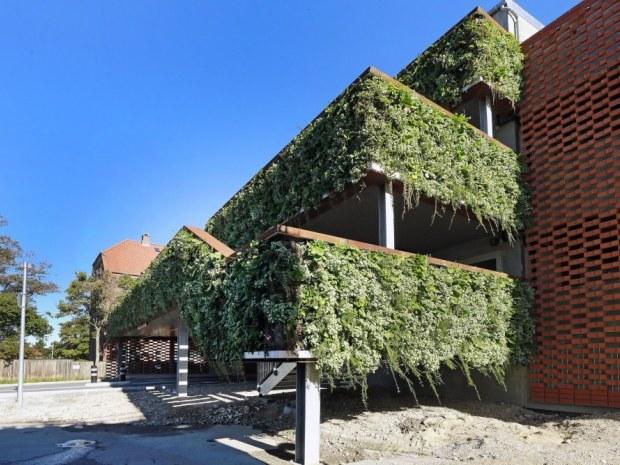 P-hus Sortebrødre Plads - hængende haver