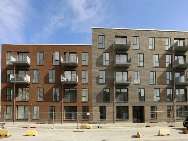 Skyttehusene I - facade
