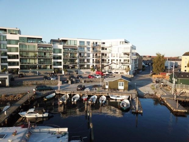 Sophieholmen - havnefront