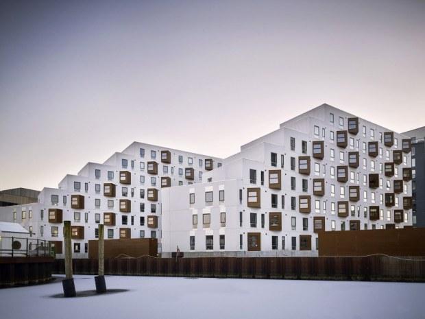 Stenfiskerkajen - facader