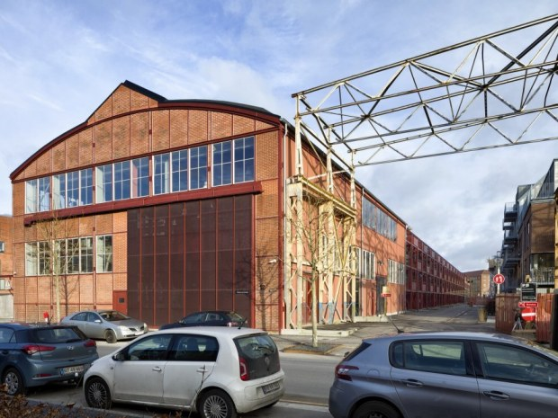 Valby Maskinfabrik - gavl
