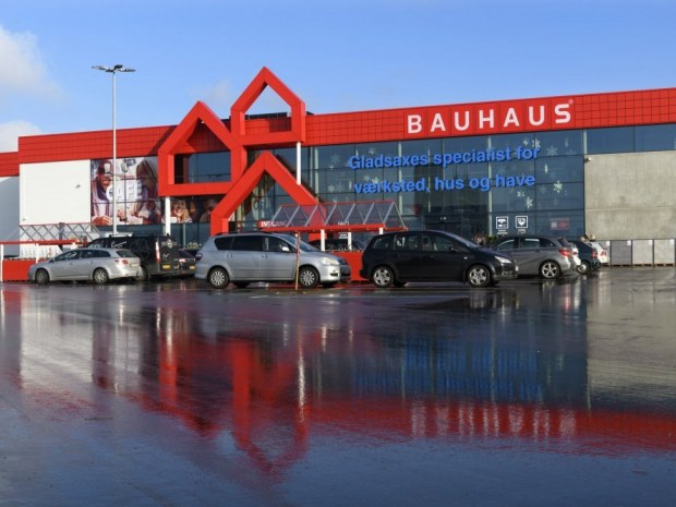Bauhaus Gladsaxe - indgang
