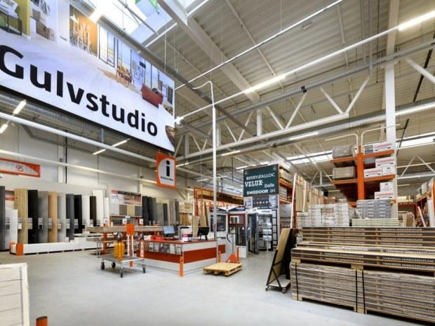 Bauhaus Gladsaxe - stålkonstruktion