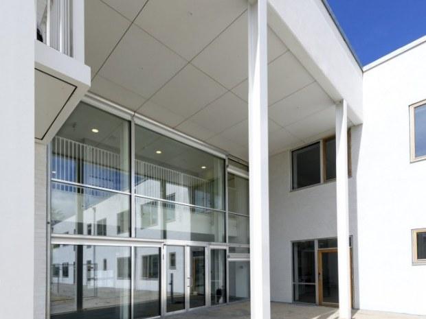 Børnehuset Troldemosen  og Lundø - indgang