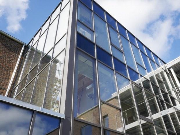 Byens Hus - glasparti
