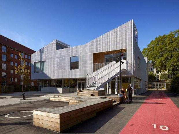 Christianshavns Skole - udearealer