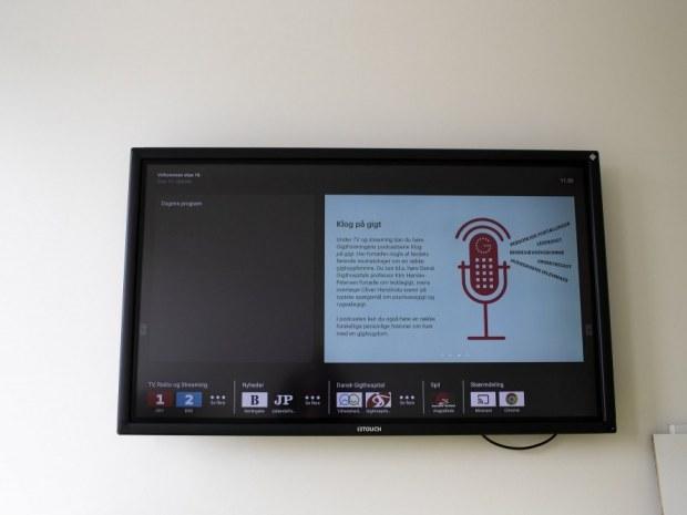 Dansk Gigthospital - touchskærm