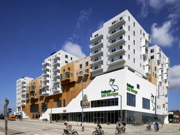Himmelbyen - facade
