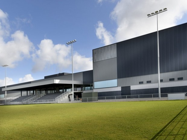 Holbæk Sportsby - fodboldstadion