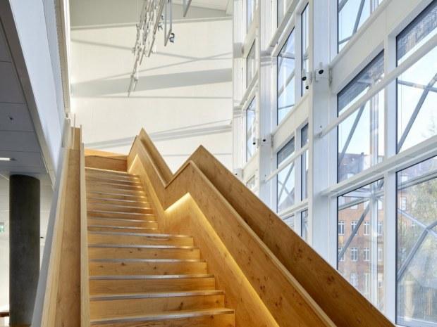 Niels Bohr Bygningen - trappe